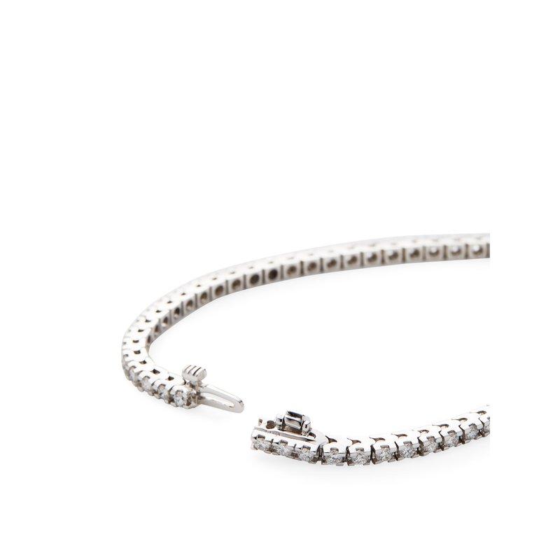 Billig Signature Prong Set Diamond Tennis Bracelet