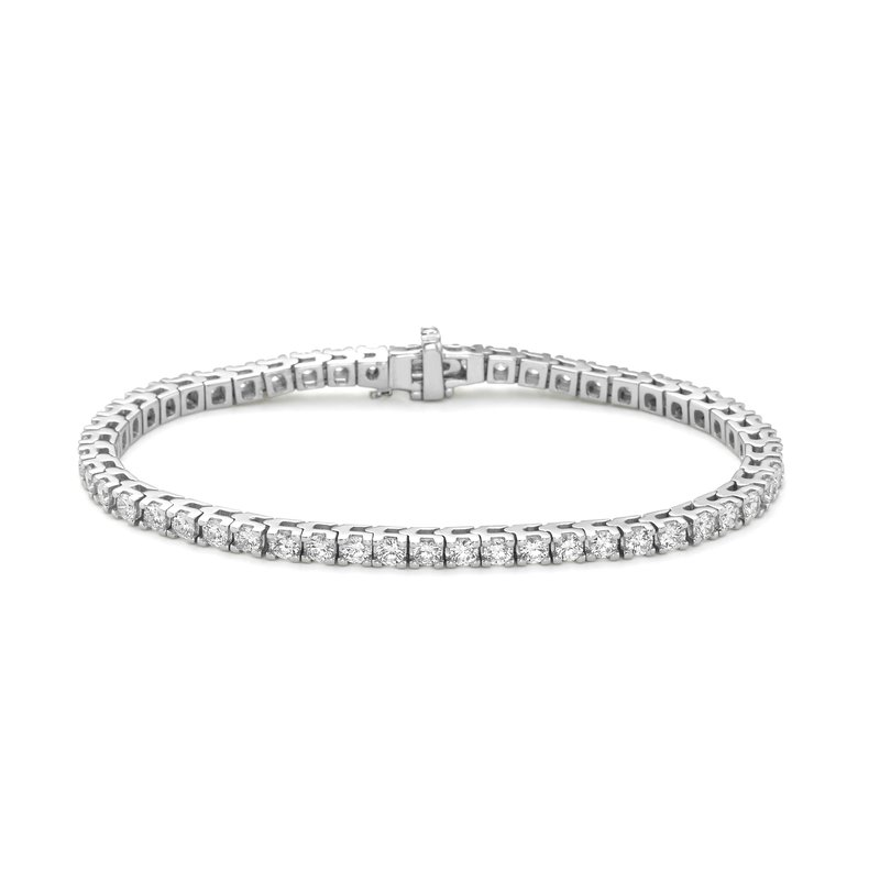 Billig Signature Prong Set Diamond Tennis Bracelet