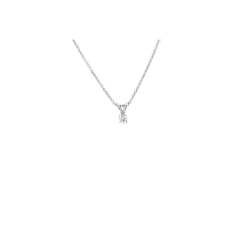 Billig Signature Diamond Solitaire Pendant