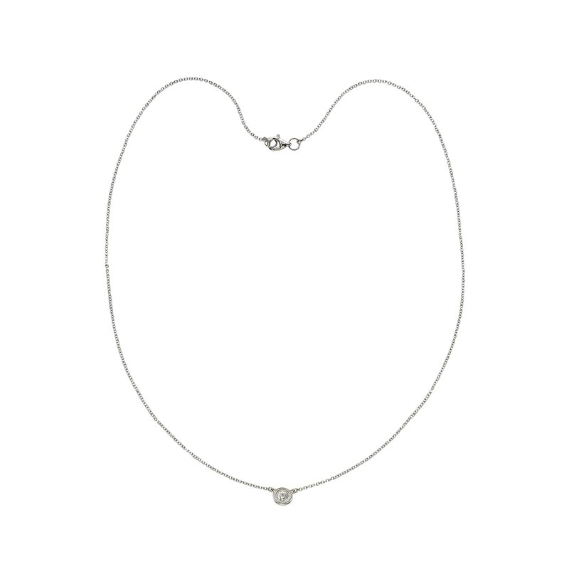 Billig Signature Single Stone Diamond by the Yard Necklace