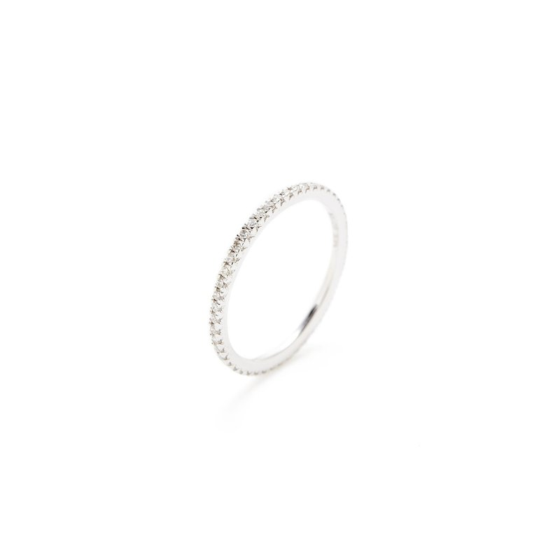 Billig Signature Pave Diamond Eternity Band