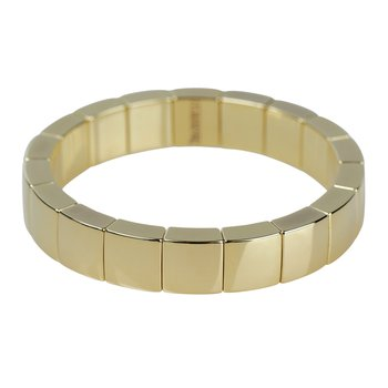 Aura Yellow Gold Ceramic Bracelet