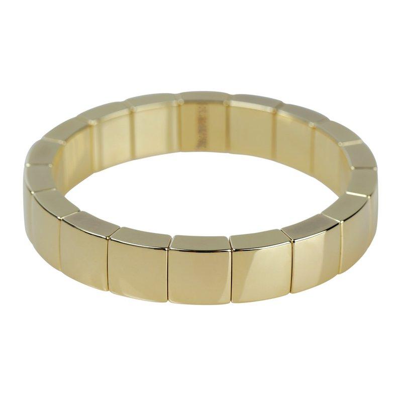 Roberto Demeglio Aura Yellow Gold Ceramic Bracelet