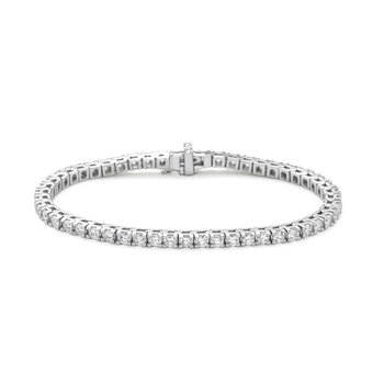 Prong Set Diamond Tennis Bracelet