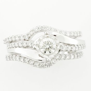 .95 CT diamond ring SI2-I1/H, 14 KW
