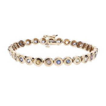 Montana Sapphire Bracelet - 14ky