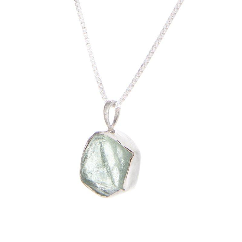 Montana Sapphire Crystal Pendant