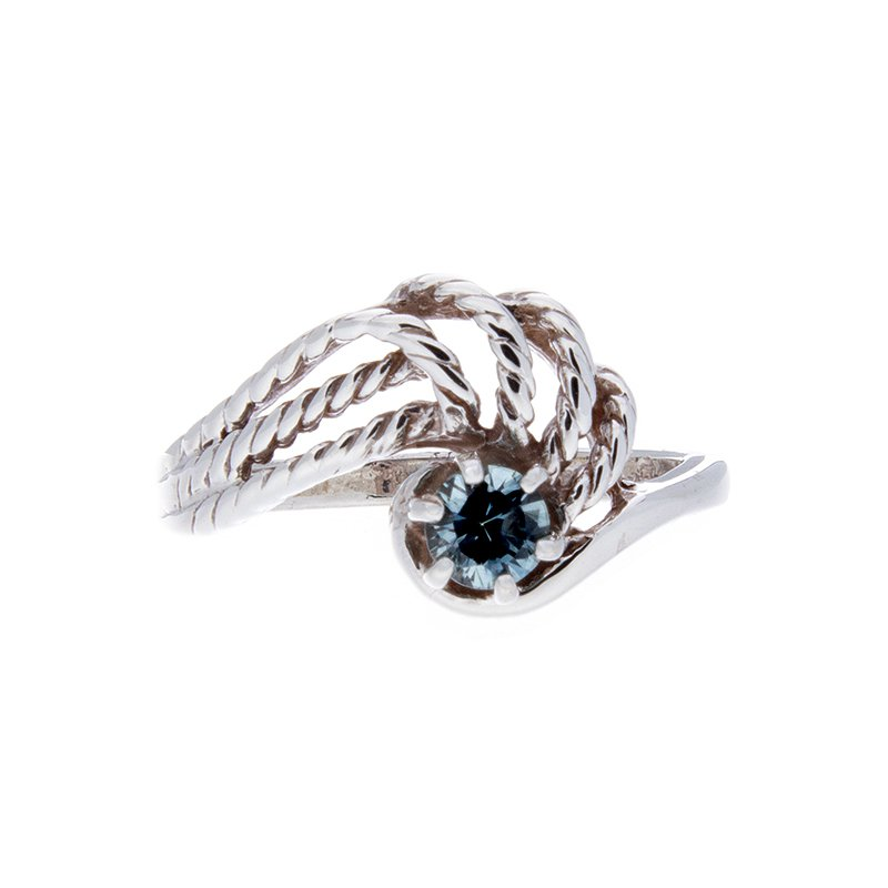 Montana Sapphire Sterling Silver Ring