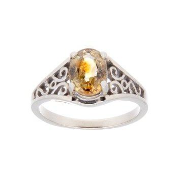 Montana Fancy Sapphire Ring - 14kw
