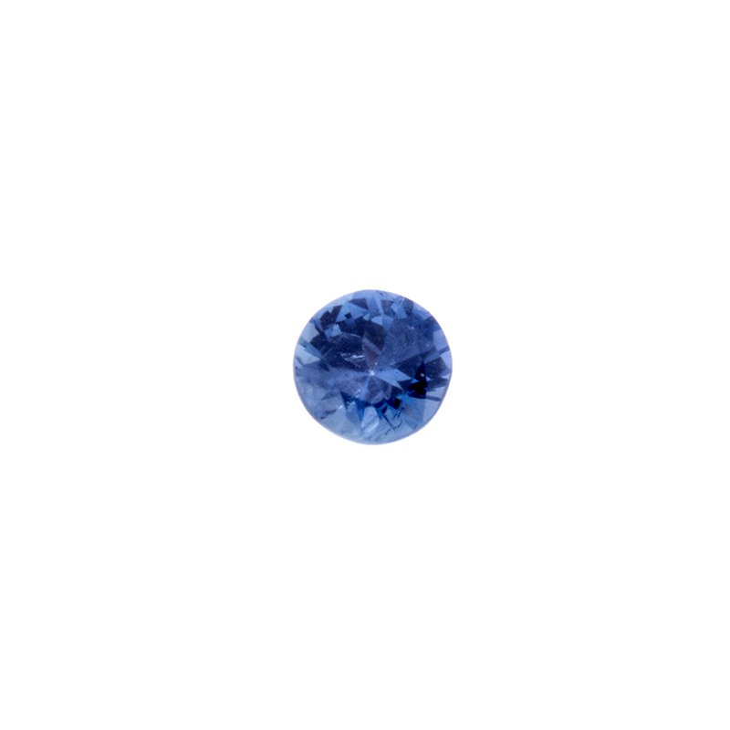 Yogo Sapphire - round brilliant (2.0mm - 2.7mm)