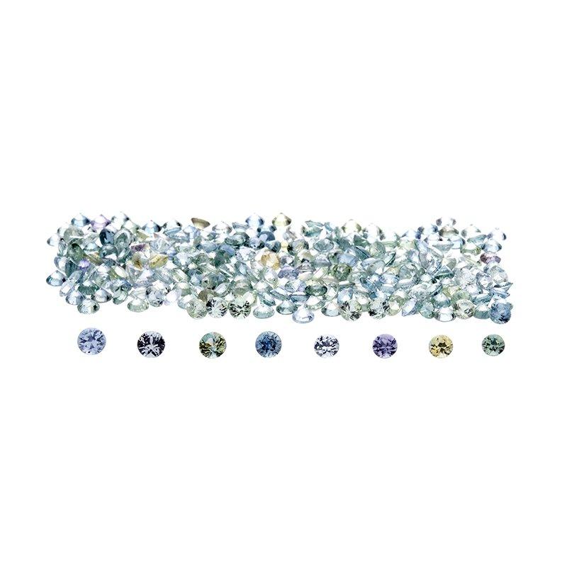 Montana Sapphire - round brilliant (2.8mm - 3.5mm)