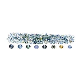 Montana Sapphire - round brilliant (3.6mm - 4.3mm)