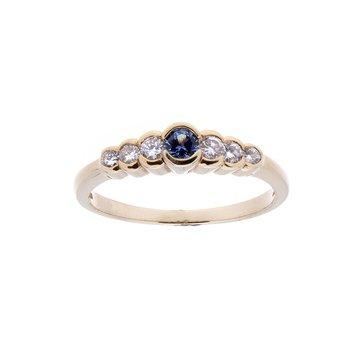 Yogo Sapphire Ring - 14ky