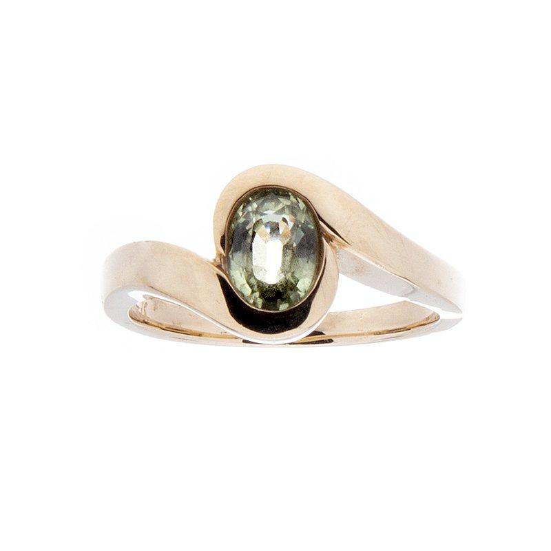 Montana Sapphire Ring - 14ky