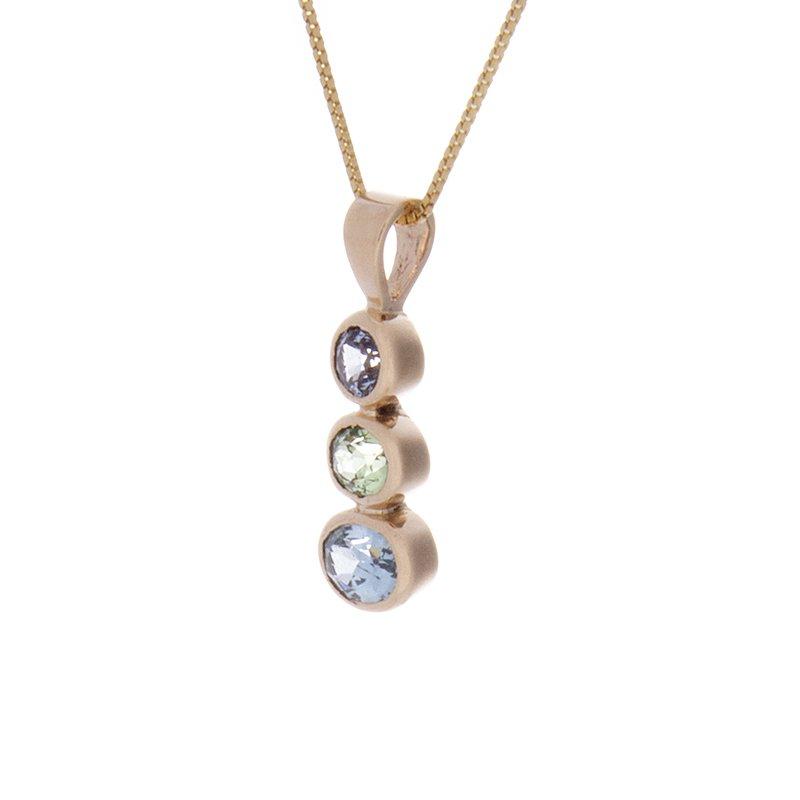 Montana Sapphire Pendant - 14ky