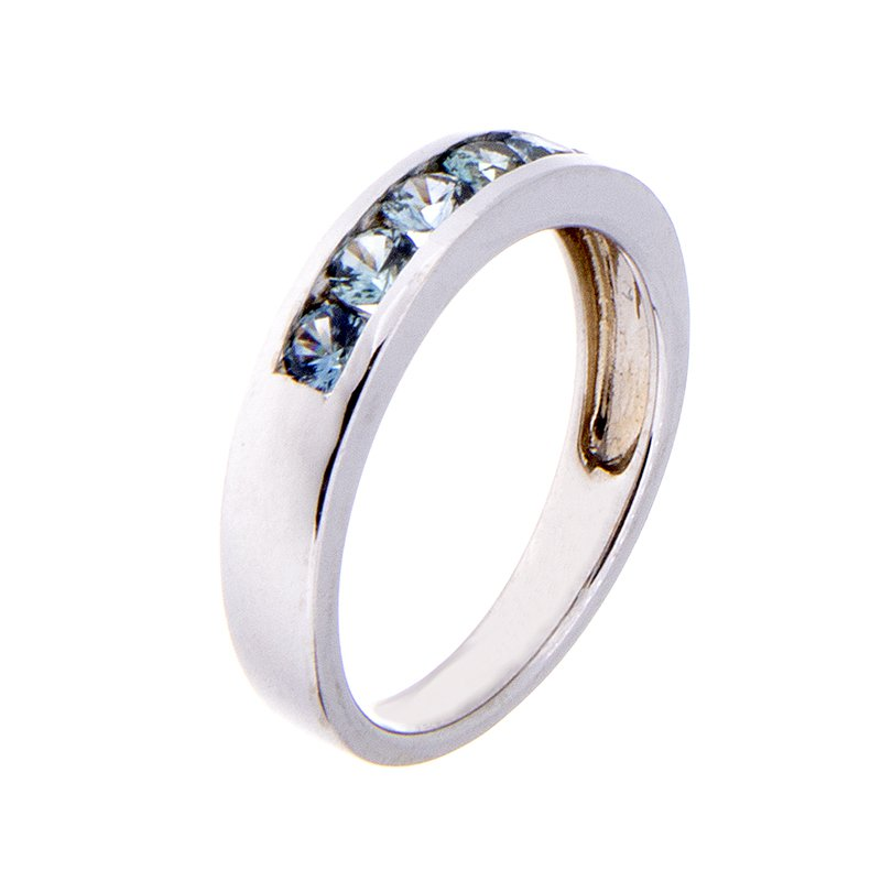 Montana Sapphire Ring - 14kw