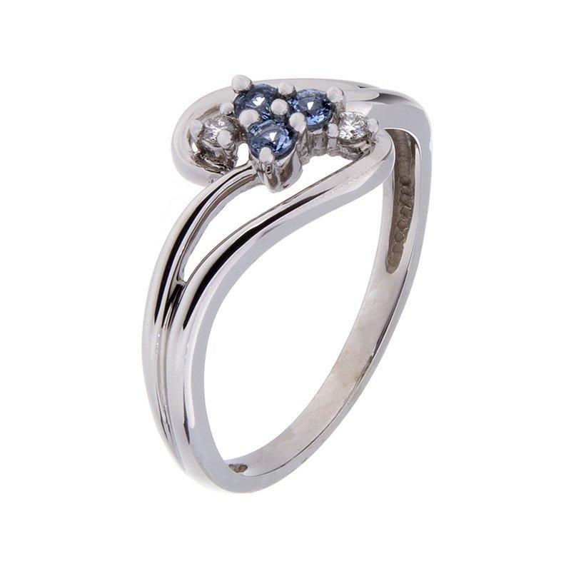 Yogo Sapphire Ring - 14k