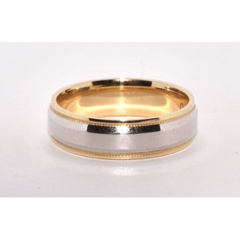 Wedding Band 14kTT High Polish