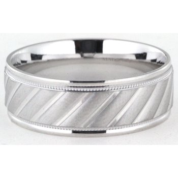 6mm mens sample wedding band includes a