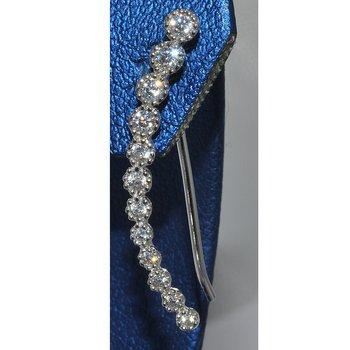 Silver/CZ Earring