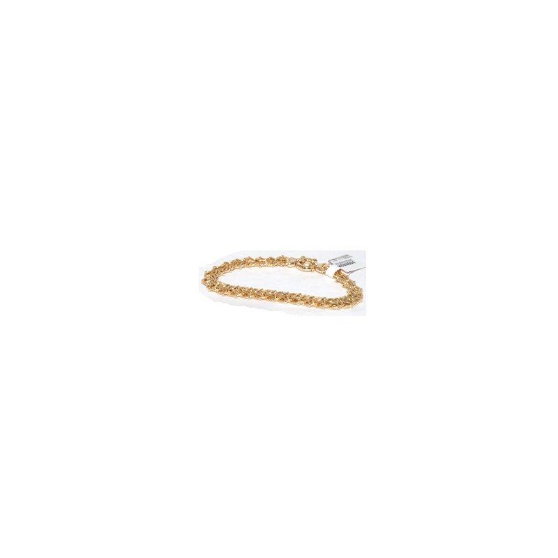 Windy City Signature 14k Yellow Gold Bracelet