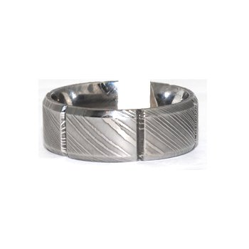 Contemporary 8MM mens wedding band