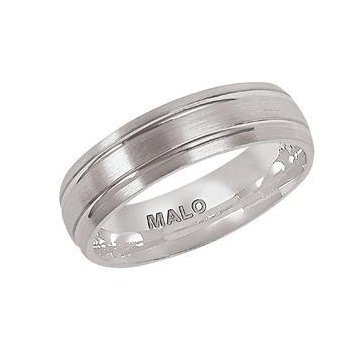 6mm sample mens wedding band has two