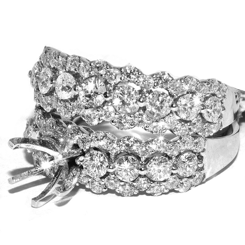 Windy City Signature 18K WG Diamond Bridal Set