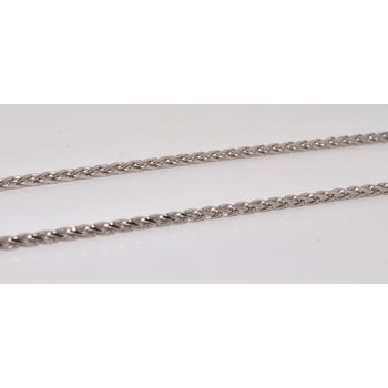 14K WG DC Margarita 1.5mm Chain