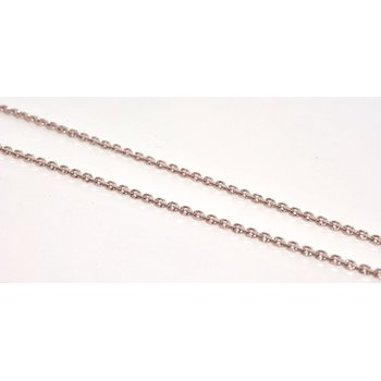 14K WG 16in Diamond Cut Chain