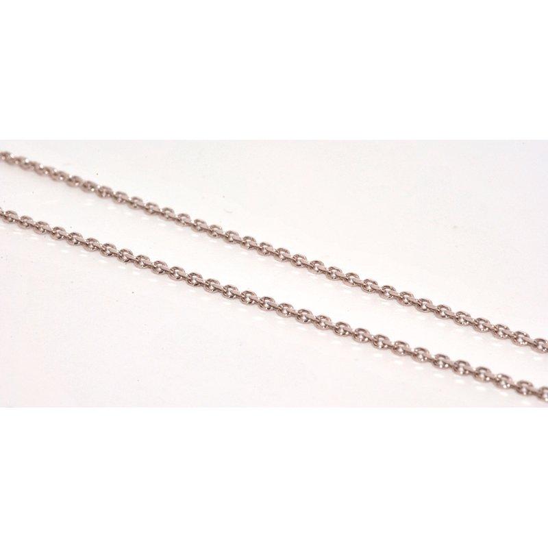 Windy City Signature 14K WG 16in Diamond Cut Chain