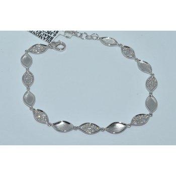14K WG Diamond Pave Brac