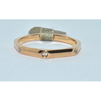 14K Rose Gold WB