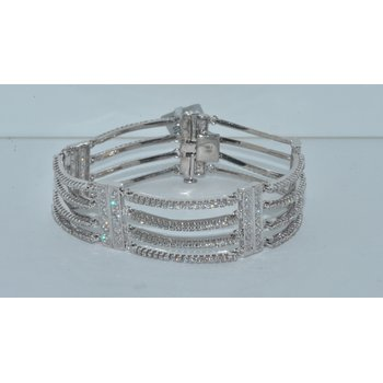 14K WG Diamond Bracelet