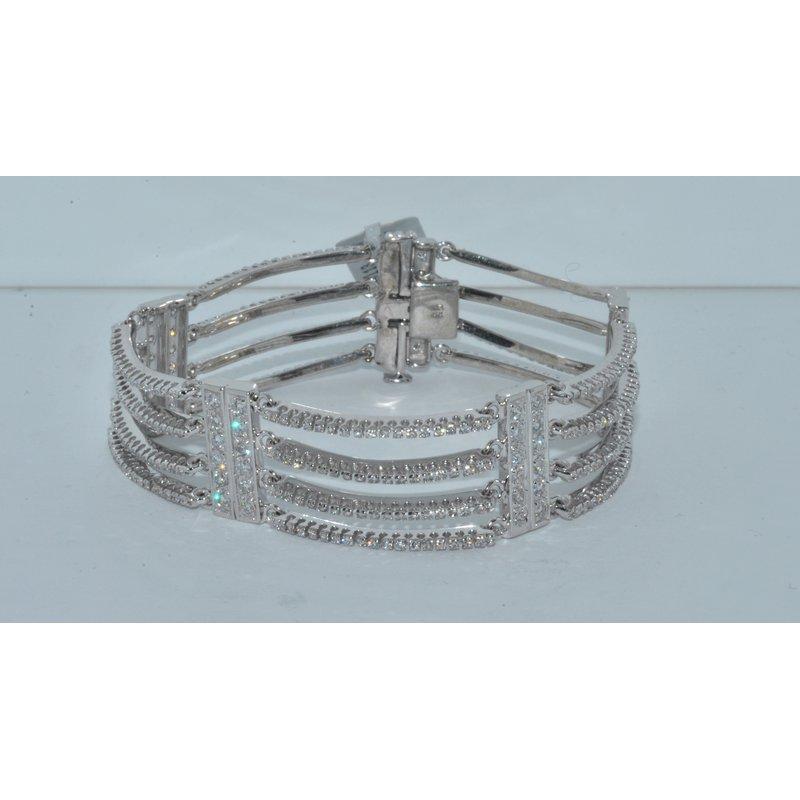 Windy City Signature 14K WG Diamond Bracelet