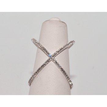 X Diamonds Ring