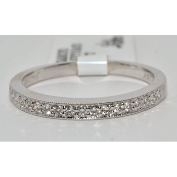 Beautiful and Simple 14K White Gold