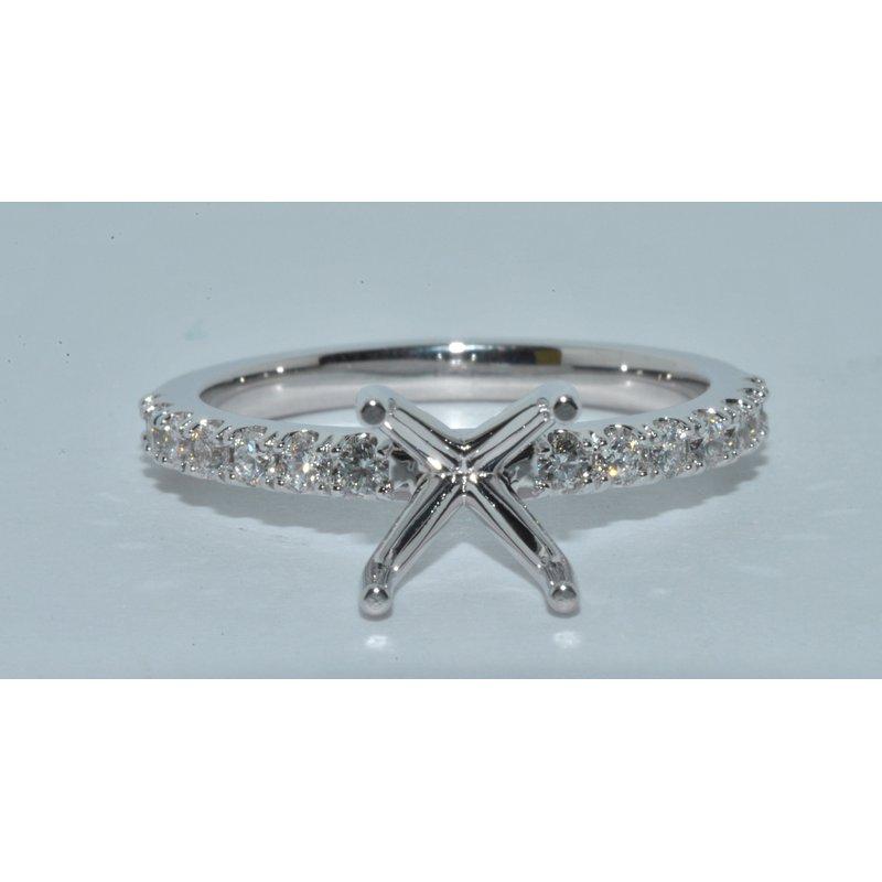 Windy City Signature Elegant Modern Diamond engagement