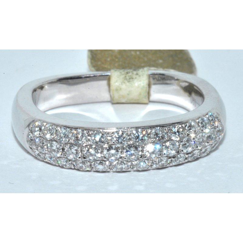 Windy City Signature 14K WG Diamond Ring