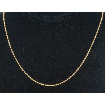 14kYG Bead Chain