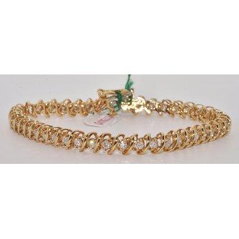 Vintage Tennis Line Bracelet