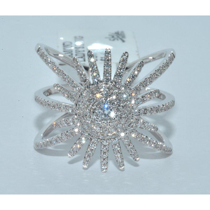Windy City Signature 14K WG Diamond Ladys Ring