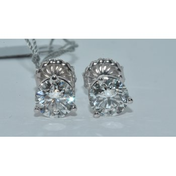 Stunning 2.02cttw Stud Earrings