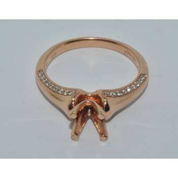 Art Deco Rose Gold