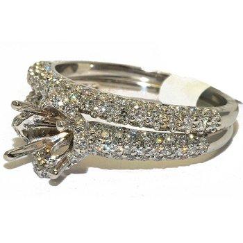 14K WG Diamond Bridal Set