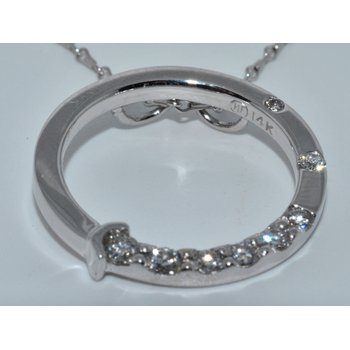 Outstanding Circle Diamond Pendant