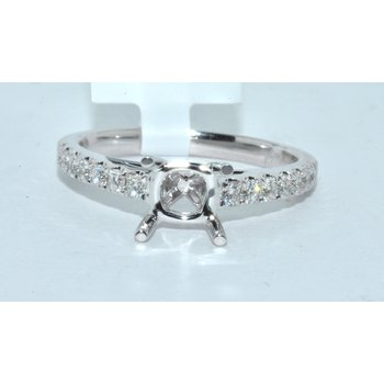 14K WG Diamond Ring