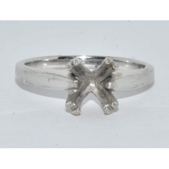Ring - eng14K-X1 White Gold