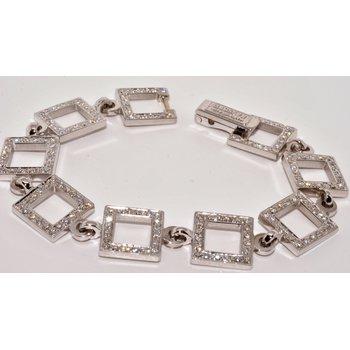 14K WG Diamond Bracelet