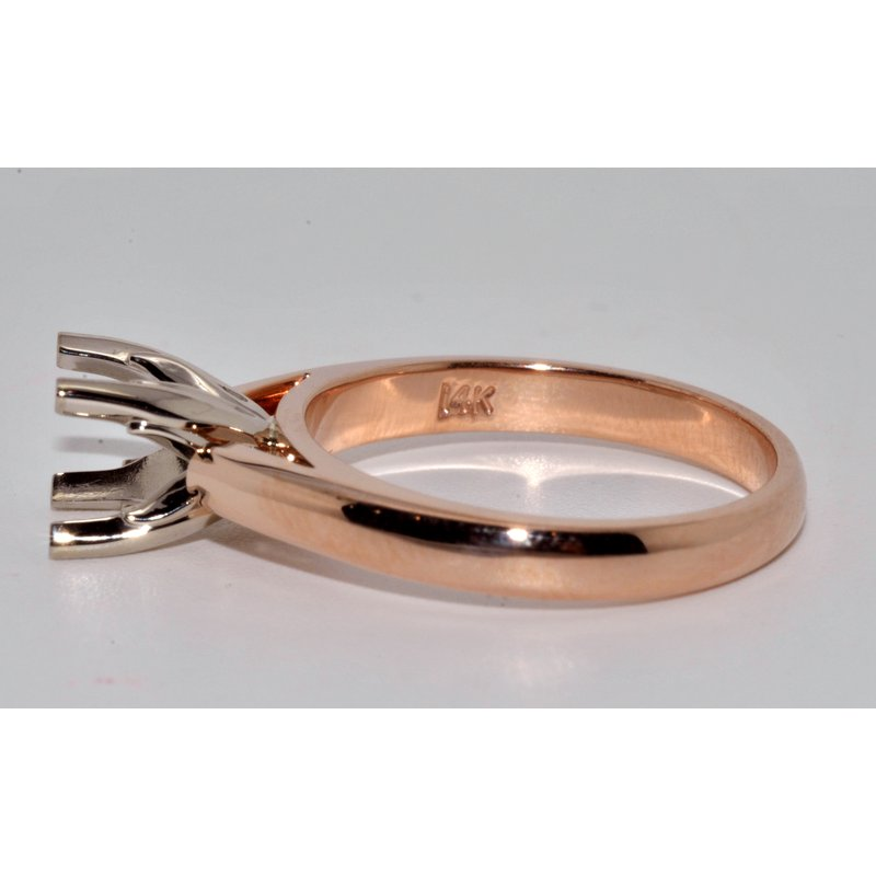 Windy City Signature 14K rose gold Sol Eng Ring